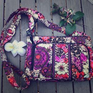 Vera Bradley floral crossbody